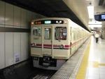 6437F+6049F、新線新宿発車