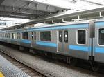 モハ209-49、大崎にて