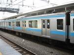 モハ208-49、大崎にて