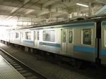モハ208-50、大崎にて