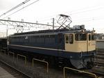 EF65 1103、尾久にて