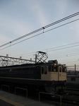 EF65 1103工臨と月
