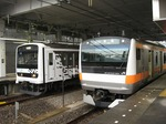 209系MueとE233系H46、豊田にて
